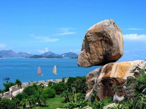 东山岛海滨风情一日游 风动石,马銮湾海滨浴场>